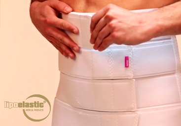 How to wear and use LIPOELASTIC® Abdominal belt?