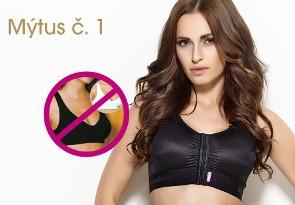 Mýtus č. 1: Po augmentaci stačí nosit sportovní podprsenku.