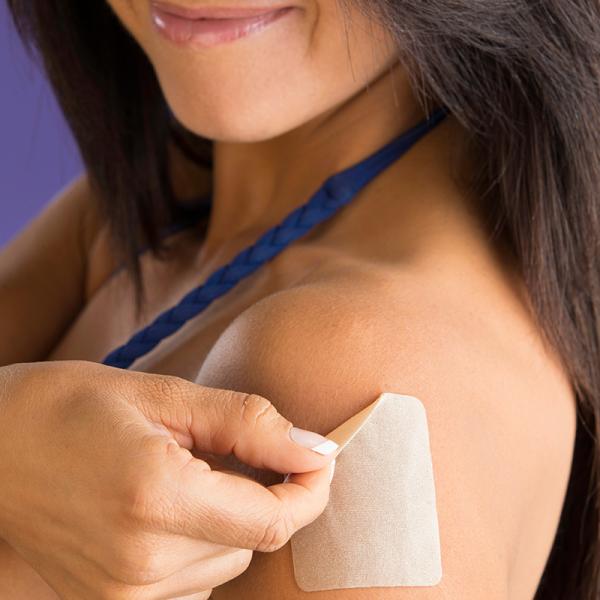Silikonová tělová náplast na jizvy Epi-derm - malá 2 ks  - Lipoelastic.cz