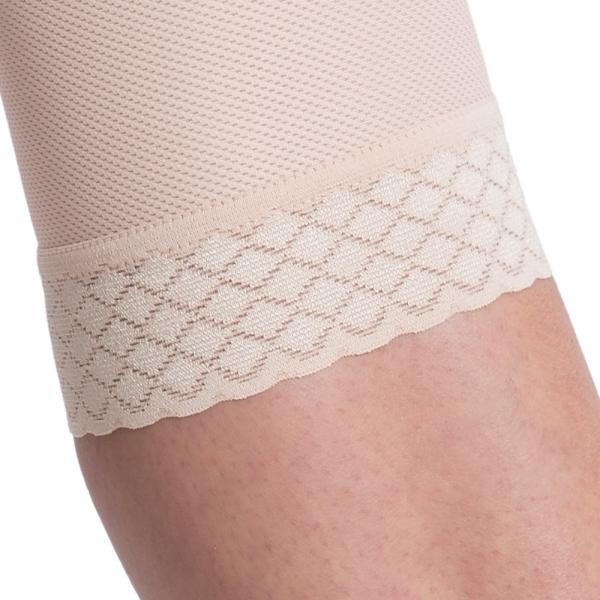 Kompresní pooperační dámské kalhoty TD unique Variant pod kolena se zapínáním na háčky a očka - Lipoelastic.cz