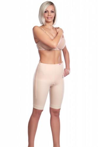Kompresní pooperační dámské kalhoty nad kolena TF Comfort se zipy - Lipoelastic.cz
